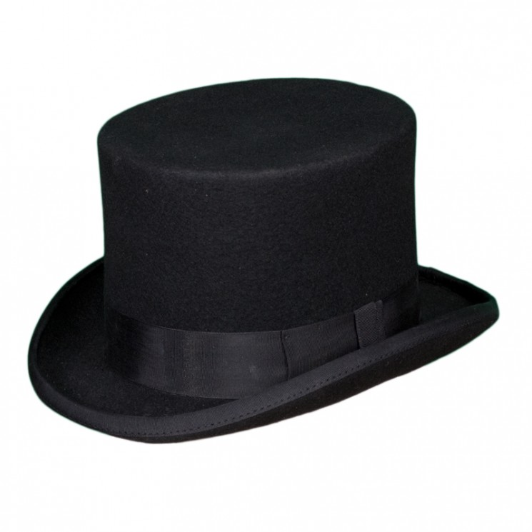 Christys Fashion Top Hat schwarz