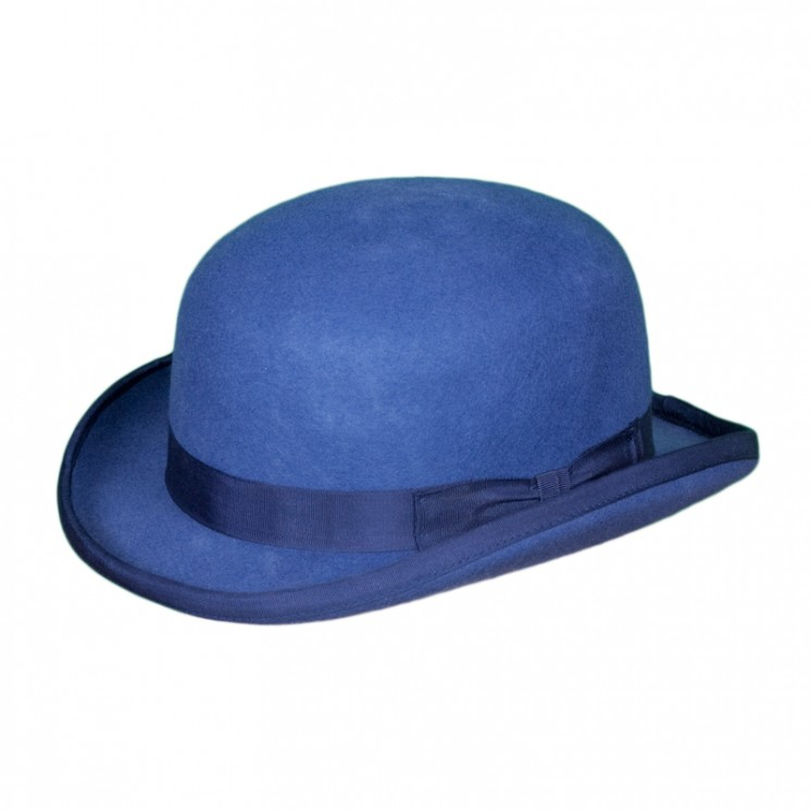 Christys Fashion Bowler blau