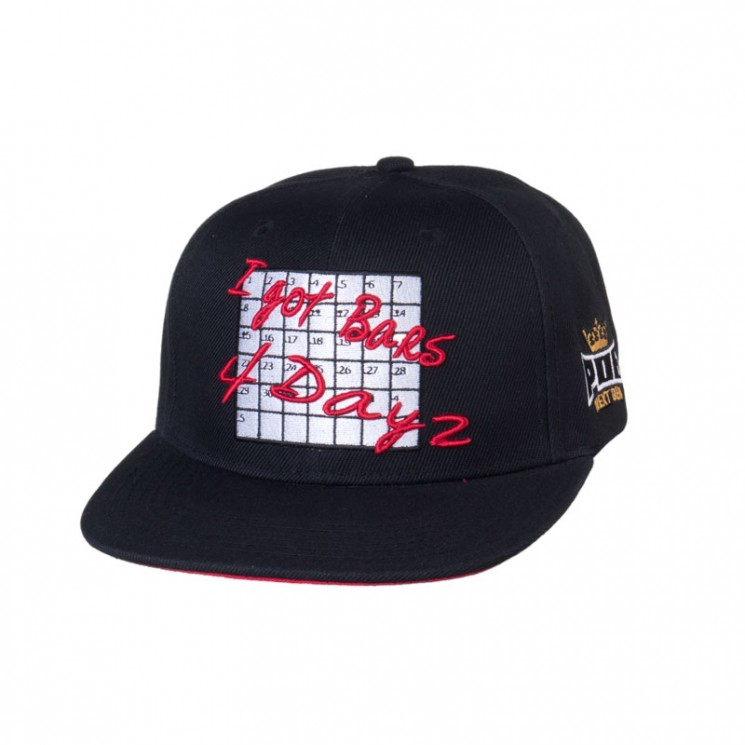 Lauren Rose Bars 4 Days Snapback Cap
