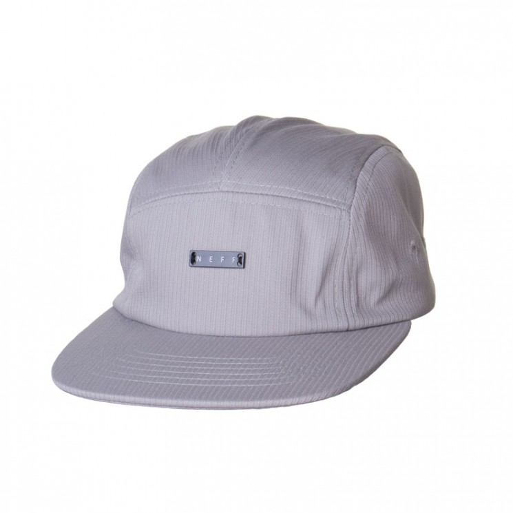 Neff Lodge Camper 5 Panel Cap grau