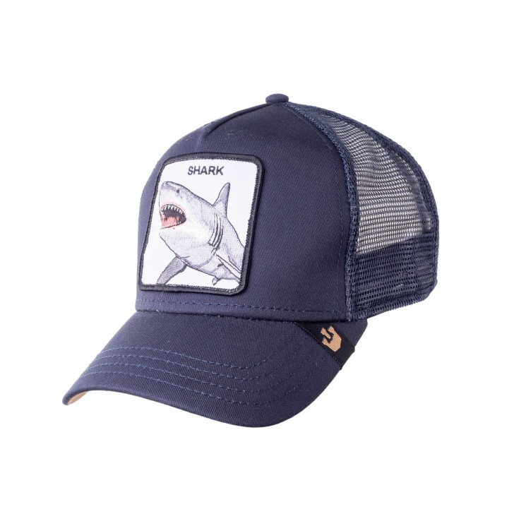 Goorin Shark Trucker Cap navy