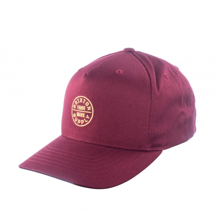 Brixton OATH 110 MP Snapback bordeaux