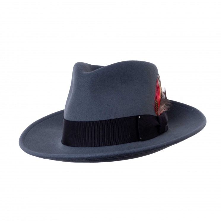 Bailey Fedora Hut grau
