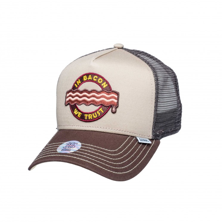 Djinns Trucker Cap HFT Food Bacon khaki