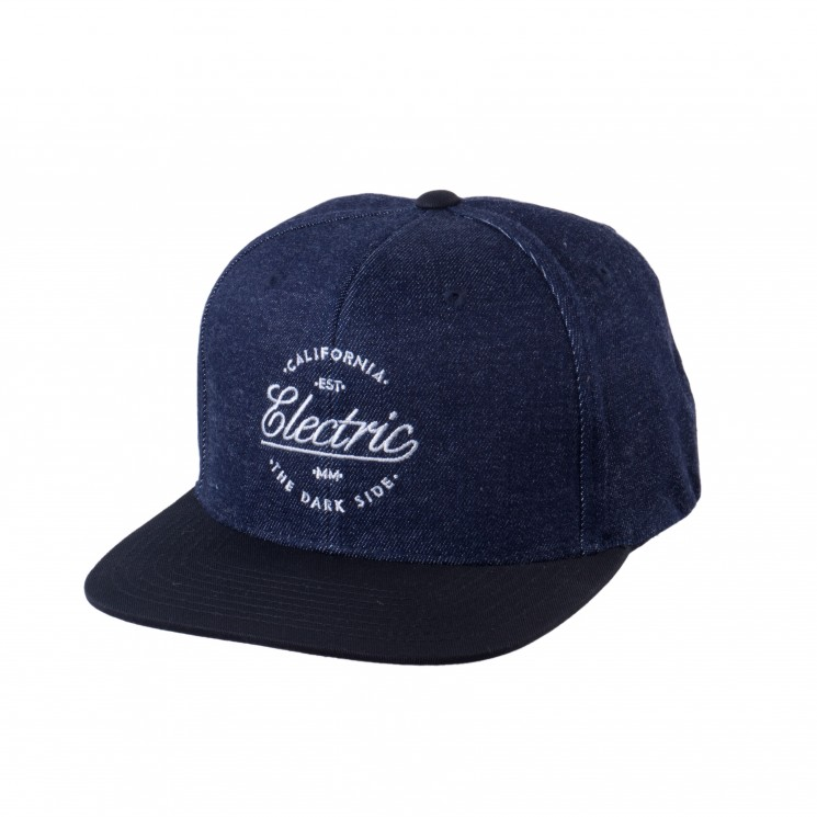 Electric Loyal Snapback Cap navy