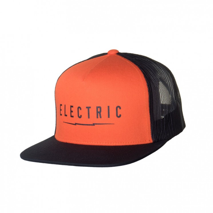 Electric Undervolt Mesh Cap II orange
