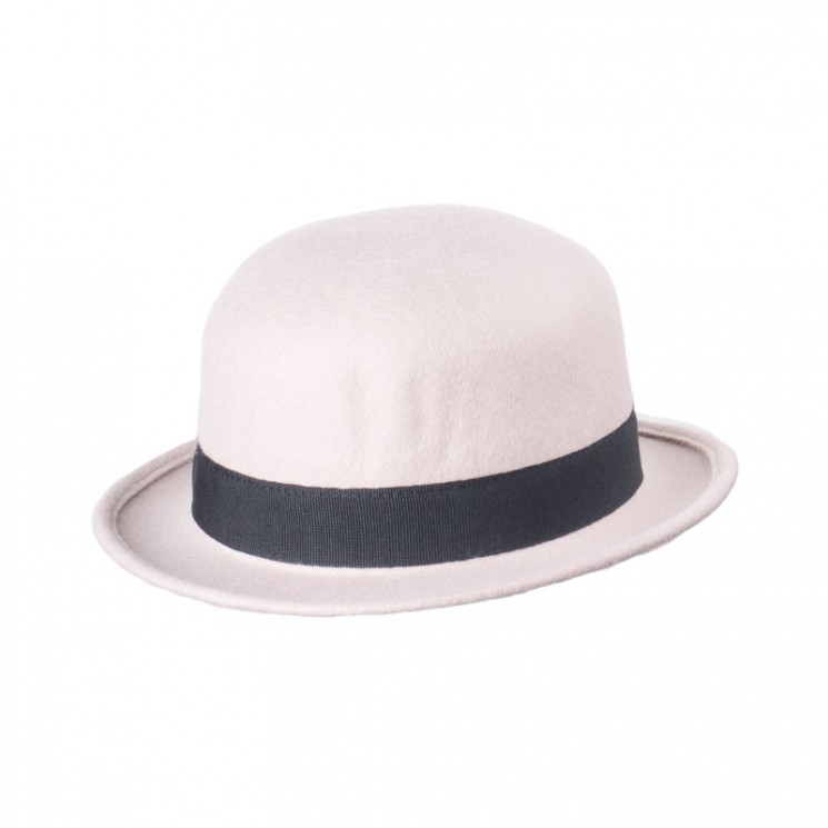 Mirage Fashion Bowler Hat Pisa beige