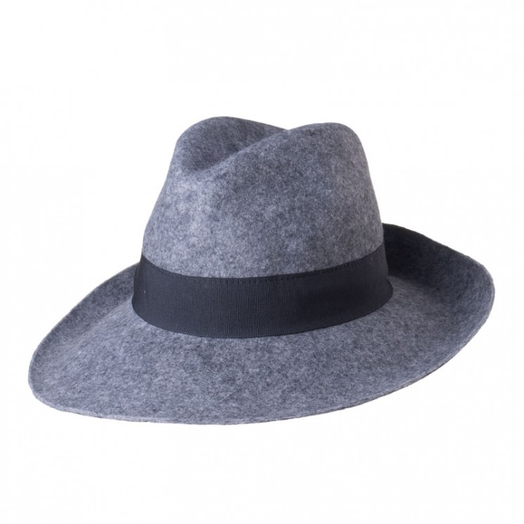 Fashion Fedora Catania grau