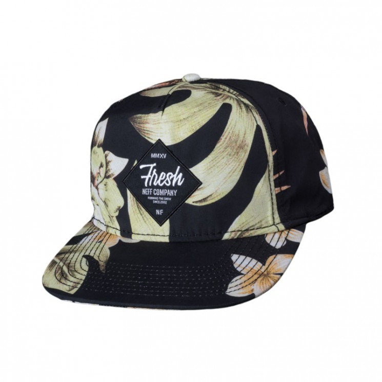 Neff Filthy Floral Snapback
