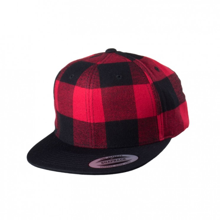 Full Checked Flanell Snapback