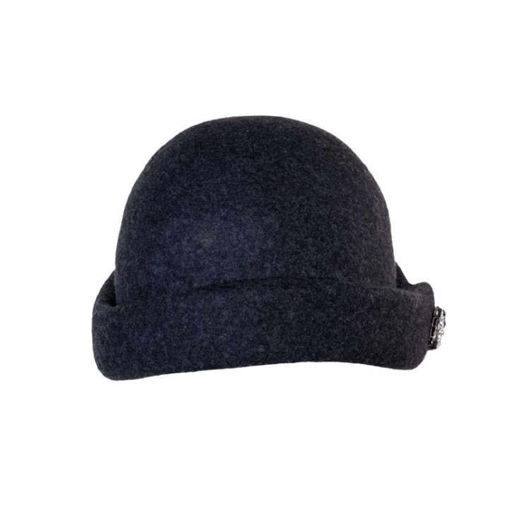 Winterhut Messina grau