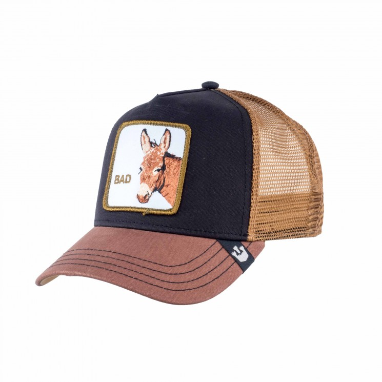 Goorin Bad Ass Trucker Cap schwarz