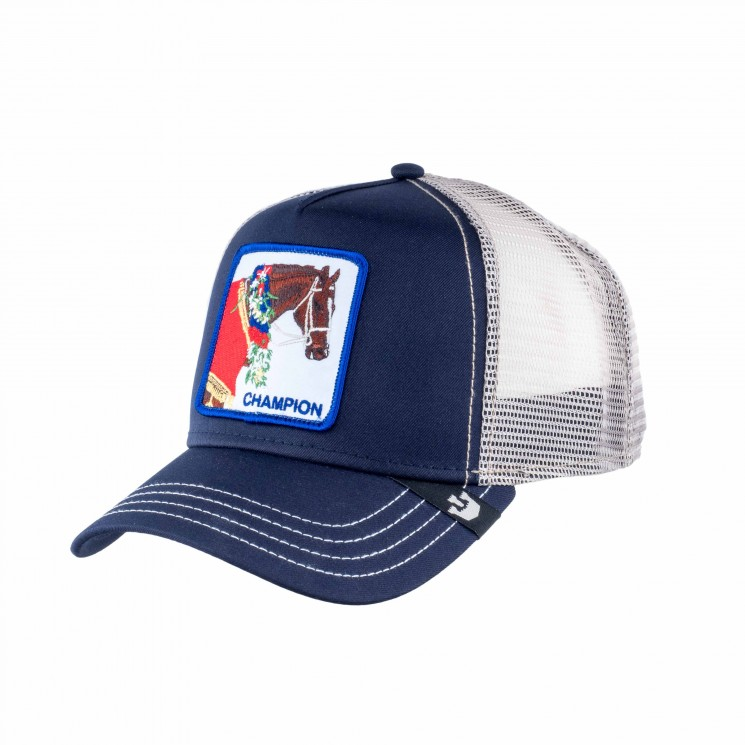 Goorin Champion Trucker Cap navy