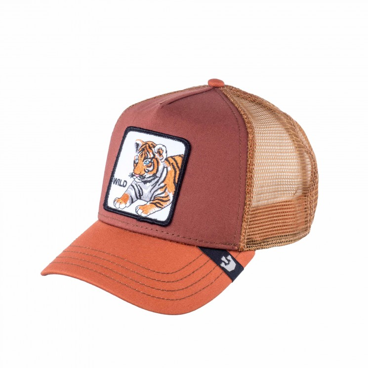 Goorin Wild Kitty Trucker Cap braun