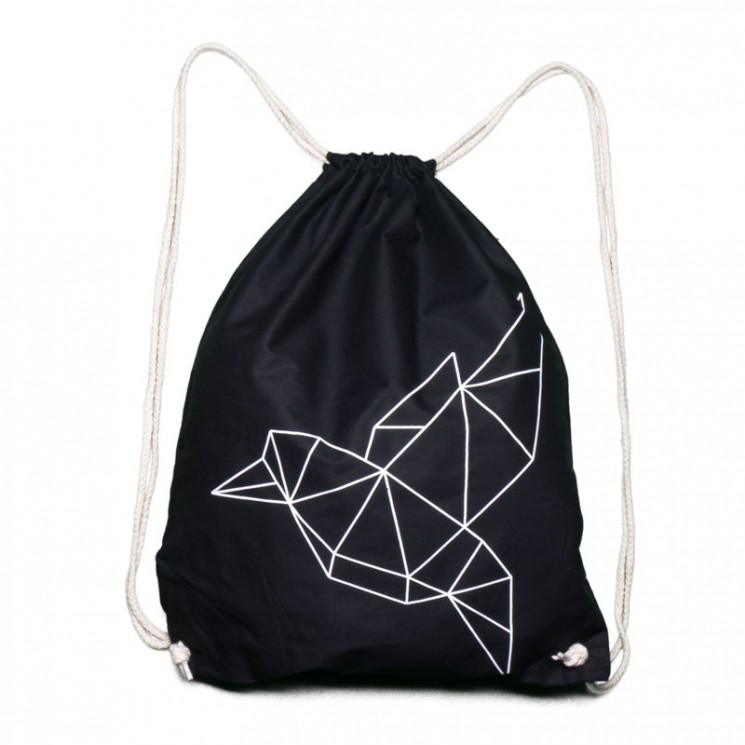 Gym Bag Origami Taube