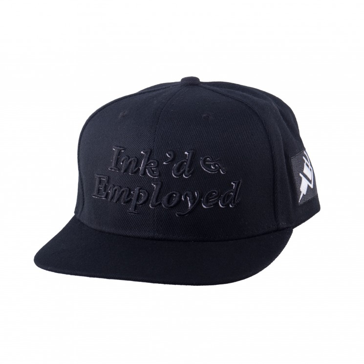 Lauren Rose Ink'd Snapback-schwarz