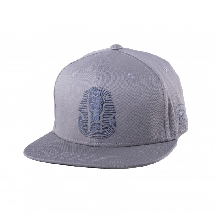 Lauren Rose Pharaoh Snapback grau