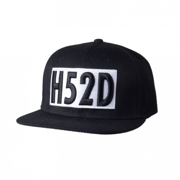 Lauren Rose H52D Black Snapback