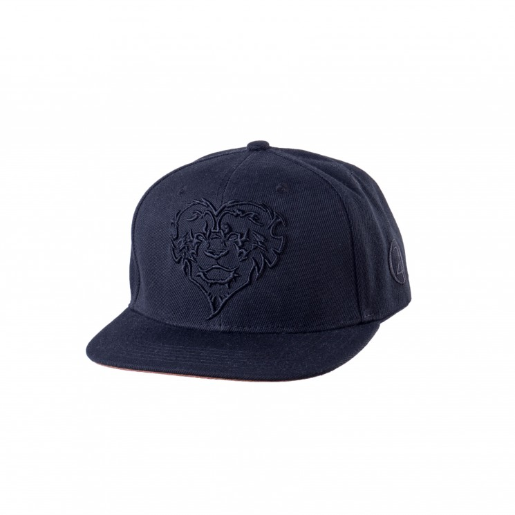 Lauren Rose Lion Hearted Cap schwarz