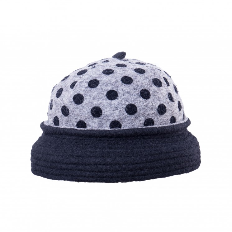 Mirage Winter Ladybug Hat grau