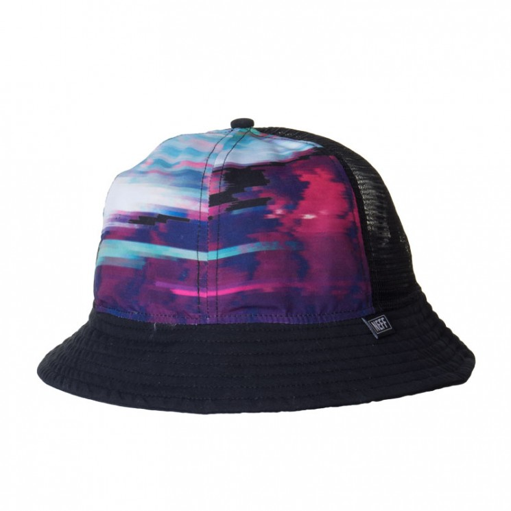 Neff Sunset Mesh Bucket Hat schwarz