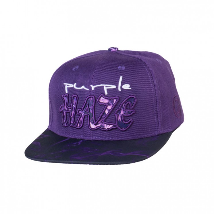Lauren Rose Purple Haze Snapback Cap