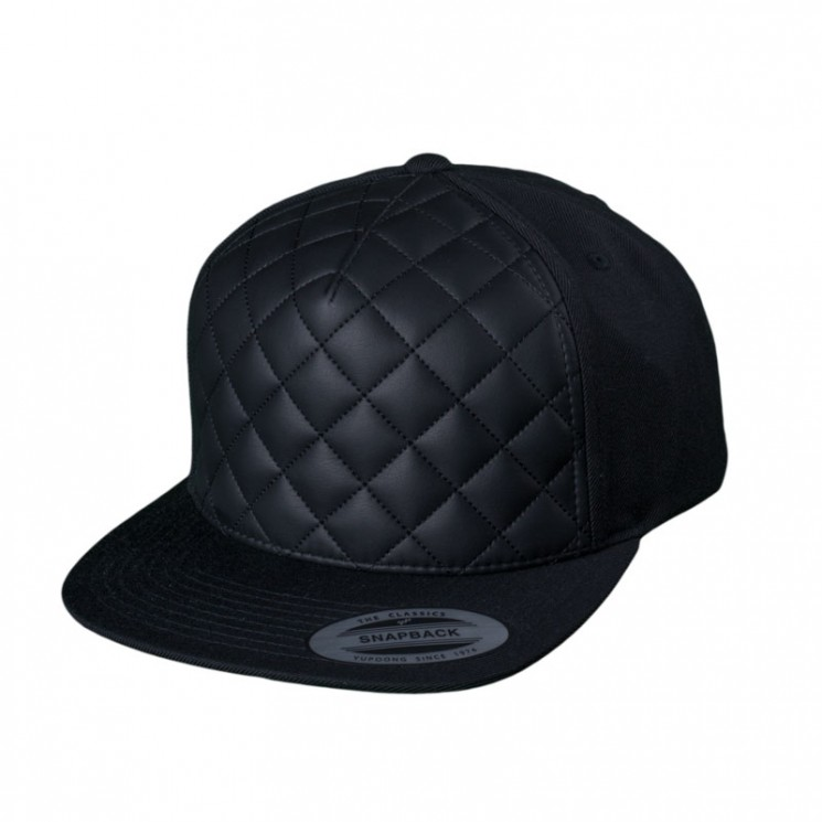Snapback Diamond Quilted