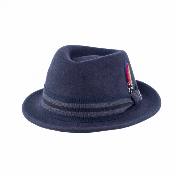 Stetson Player Woolfelt navy