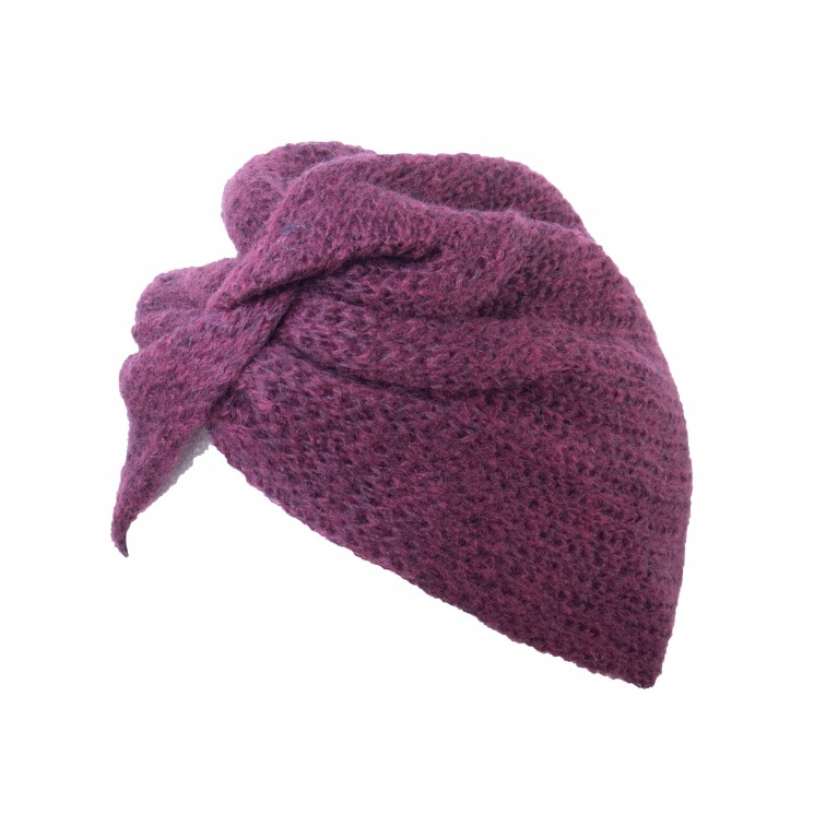 Strick Turban Marie bordeaux