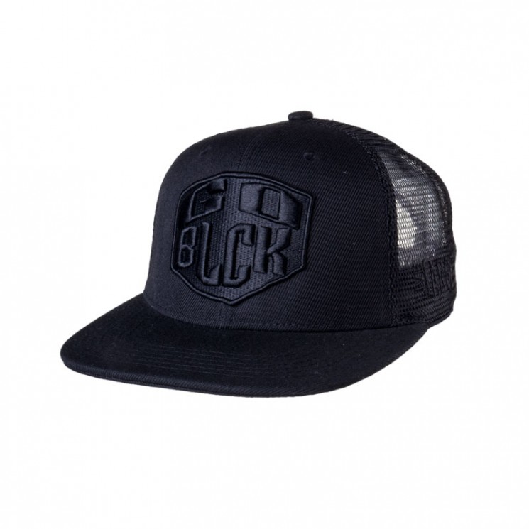 Lauren Rose Trucker Cap Go Black