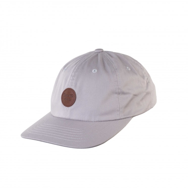 Brixton Wheeler MP Baseball Cap hellgrau