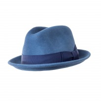 Bailey Riff Trilby Hut blau
