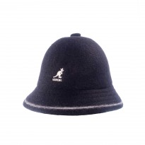 Kangol Stripe Casual Bucket Hat schwarz