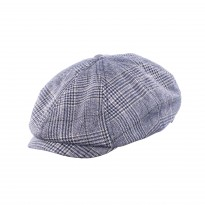 Brixton Brood Bakerboy navy grau