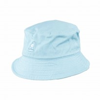 Kangol Washed Bucket Hat aqua blau