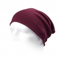 Long Beanie Brooklin bordeaux