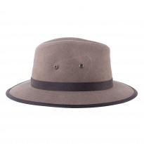 Stetson Travellerhut Canvas oliv