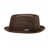 Stetson Pork Pie Wool braun
